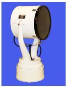image of Carlisle and Finch 19-inch halogen searchlight