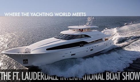 Fort Lauderdale International Boatshow Event Photo